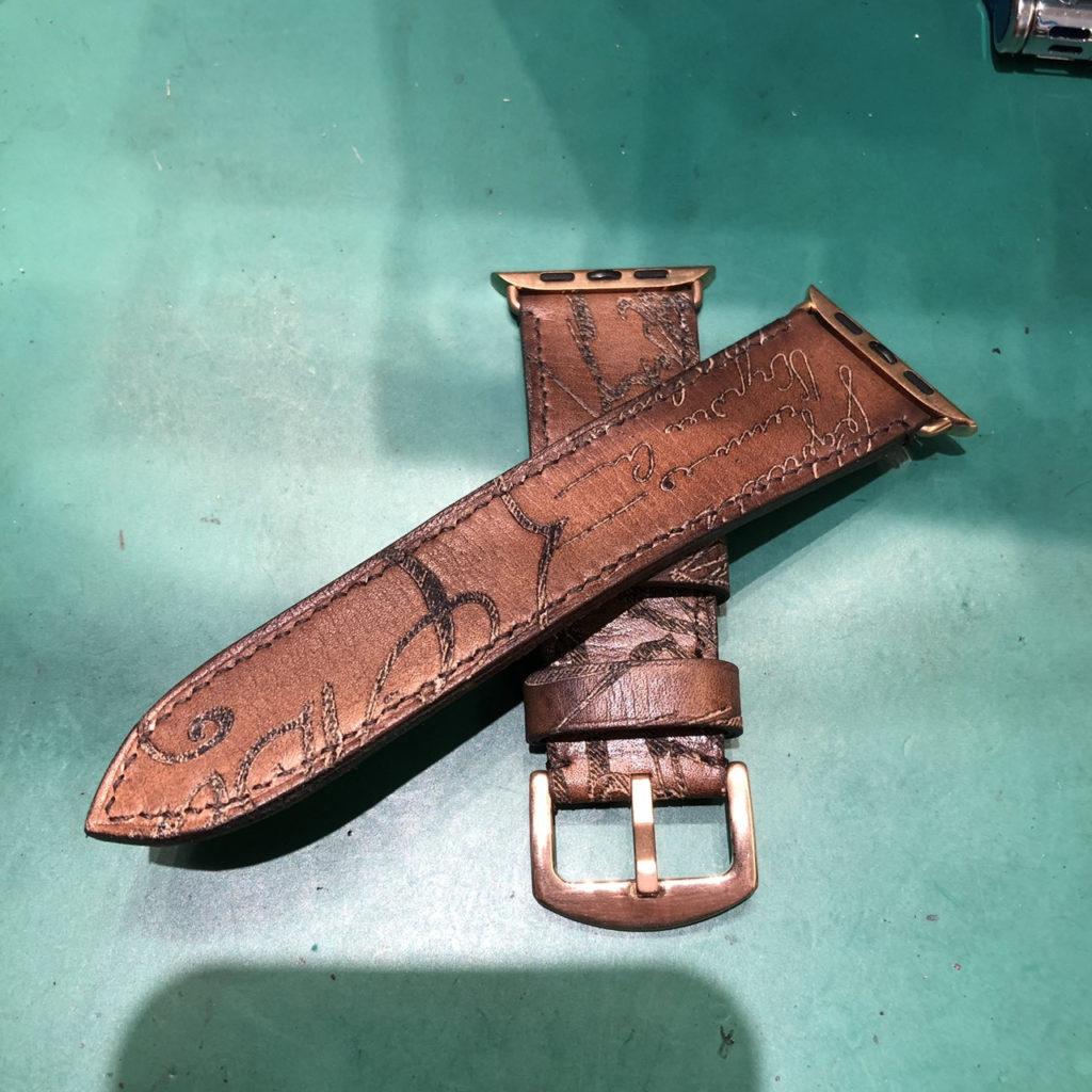 ベルルッティの時計ベルト