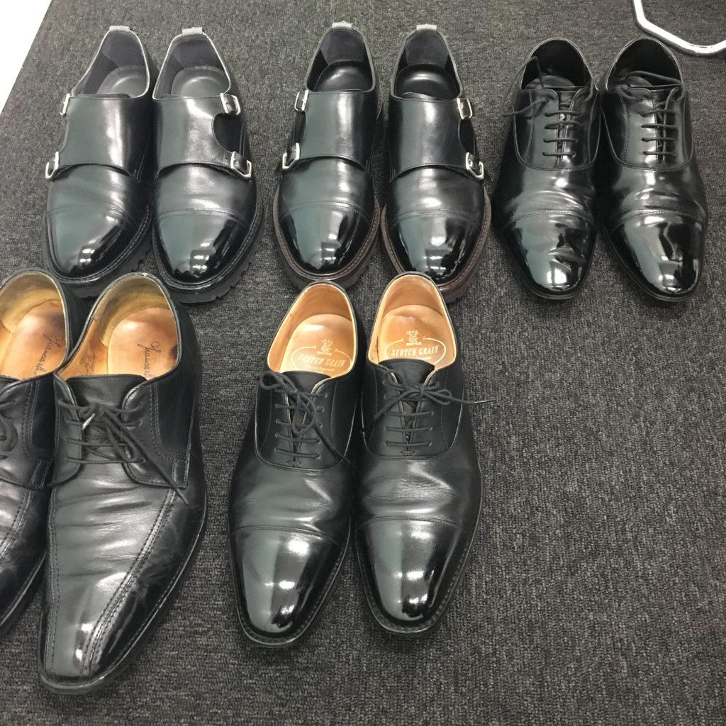出張靴磨き