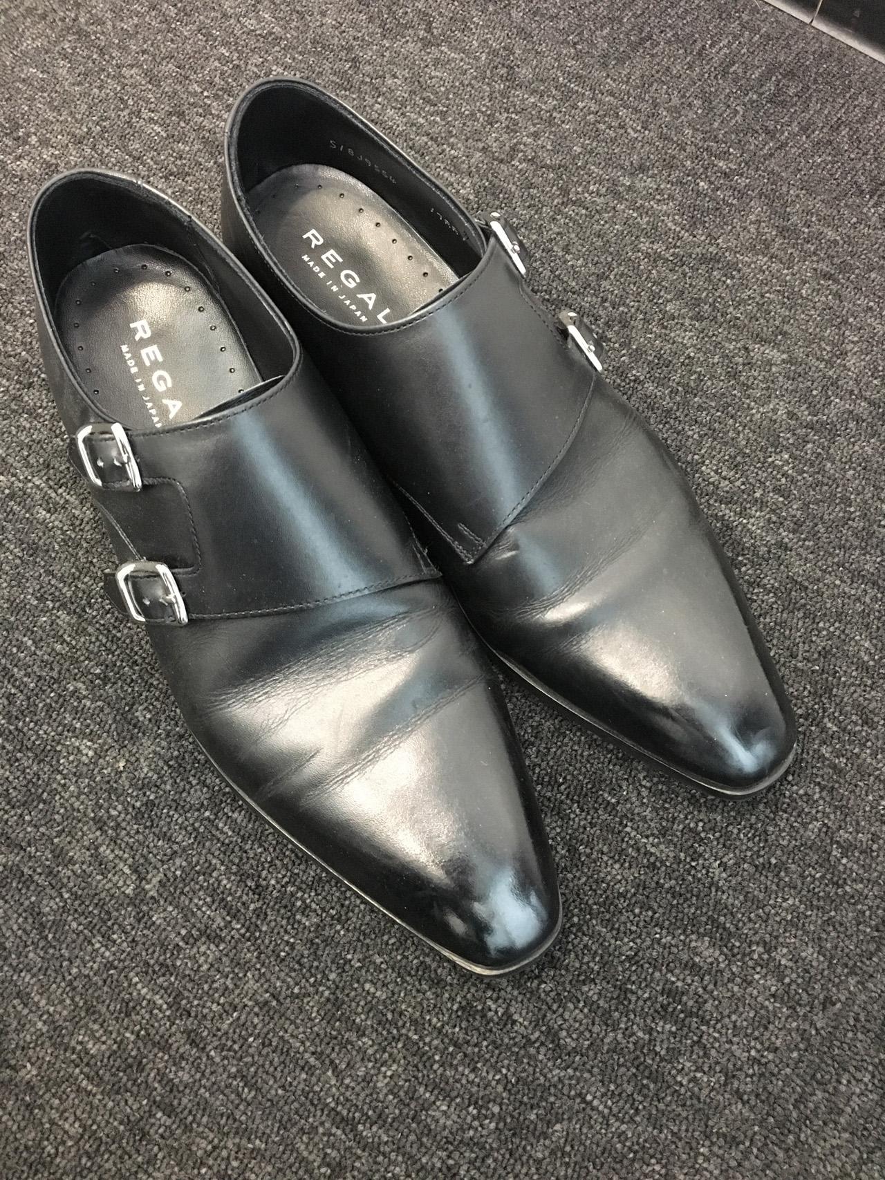 会社様へ出張靴磨き