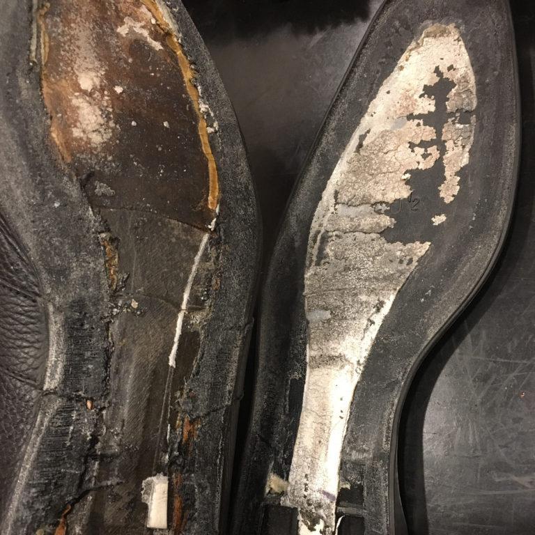 靴修理接着大