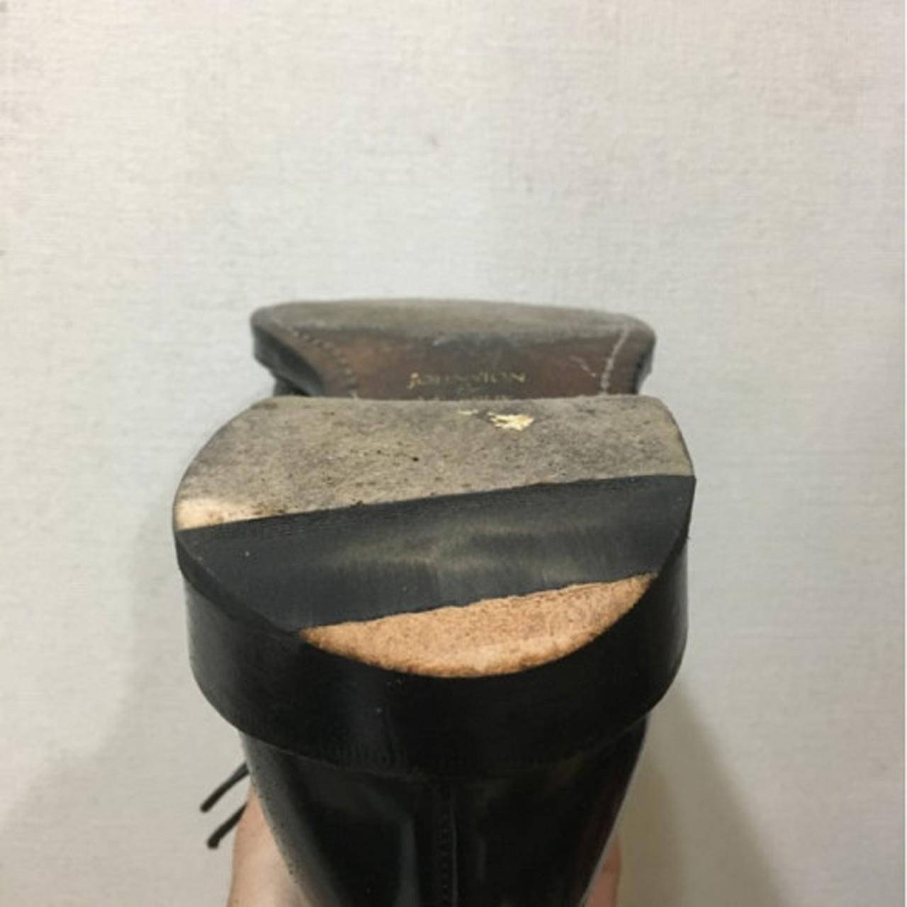 靴修理紳士ヒールラバー