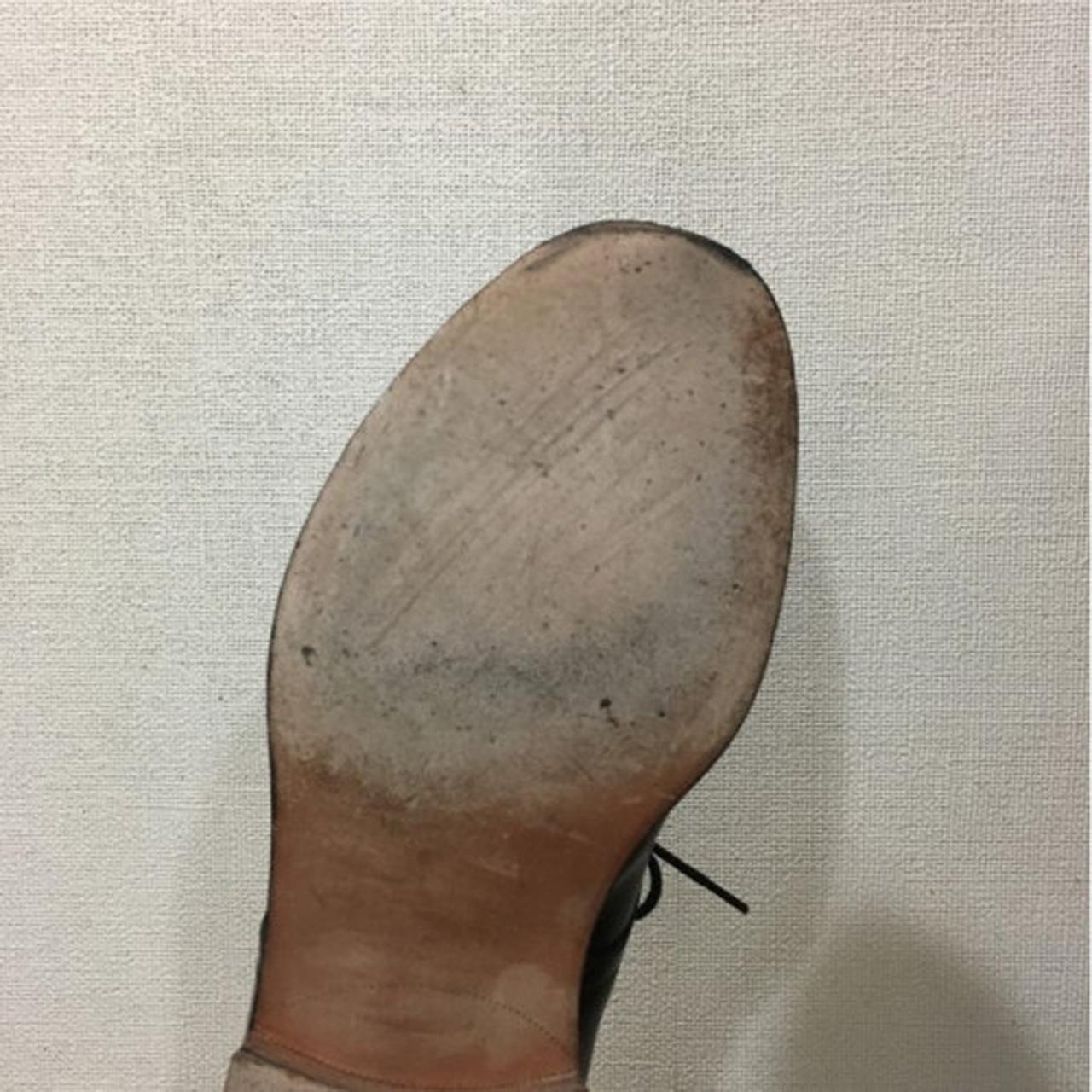 靴修理紳士ラバーソール