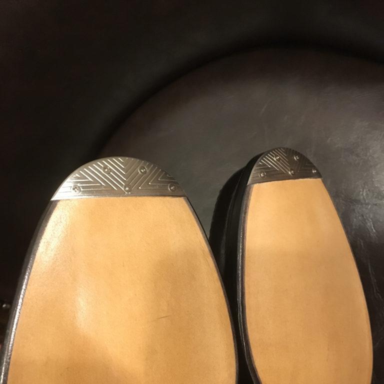 靴修理トゥスチール