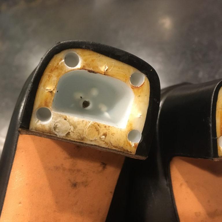 靴修理婦人ヒール