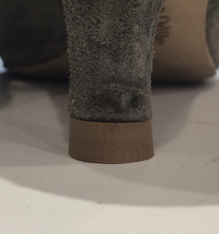 靴修理ヒール捲れなおし