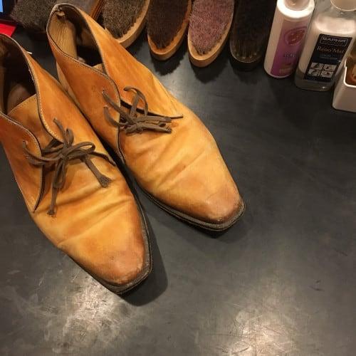 靴磨きdeluxe_before