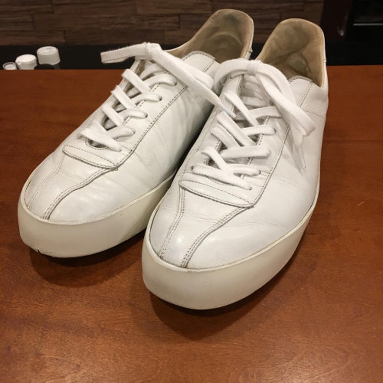 靴磨きゴムソール汚れ落とし