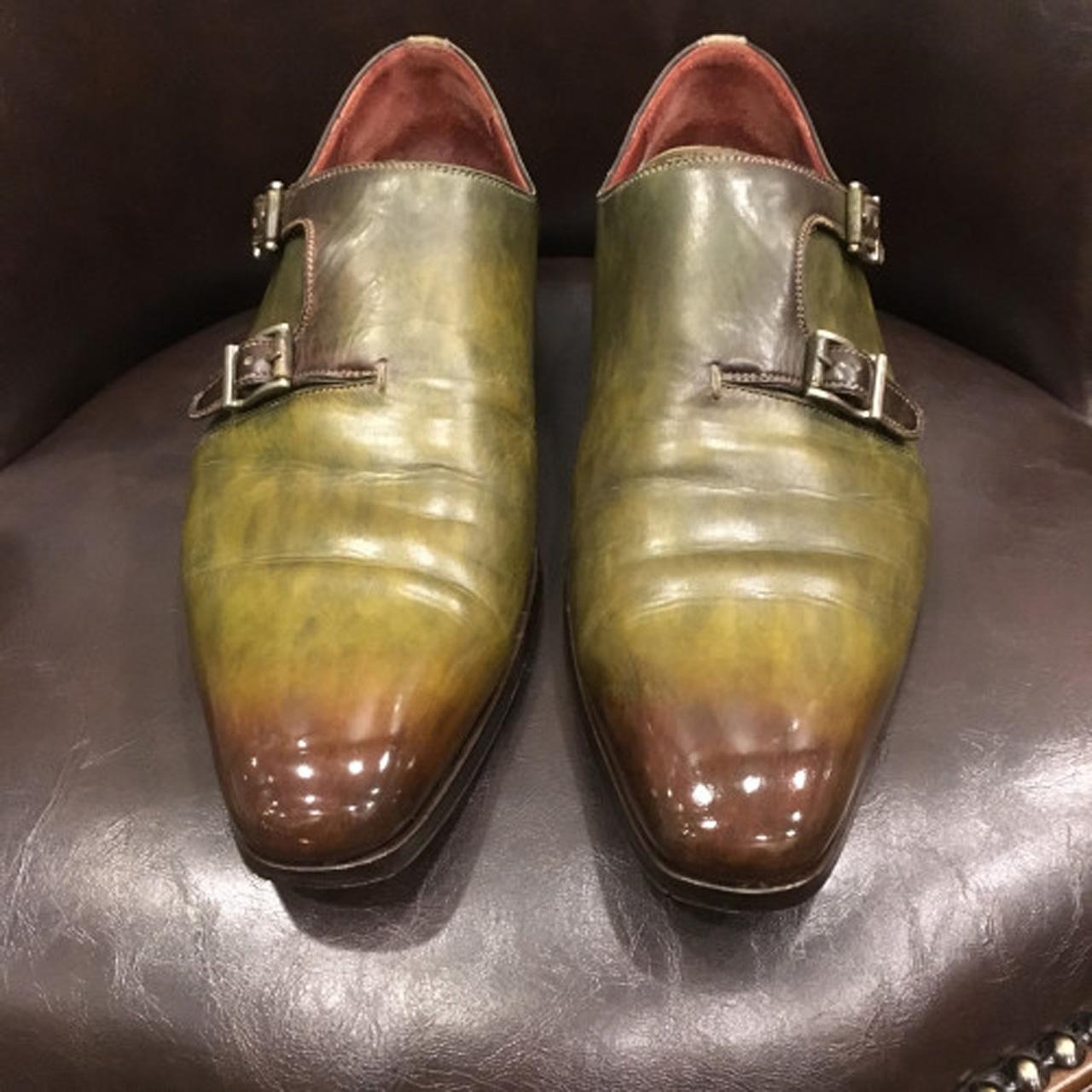 靴磨きキズ補修