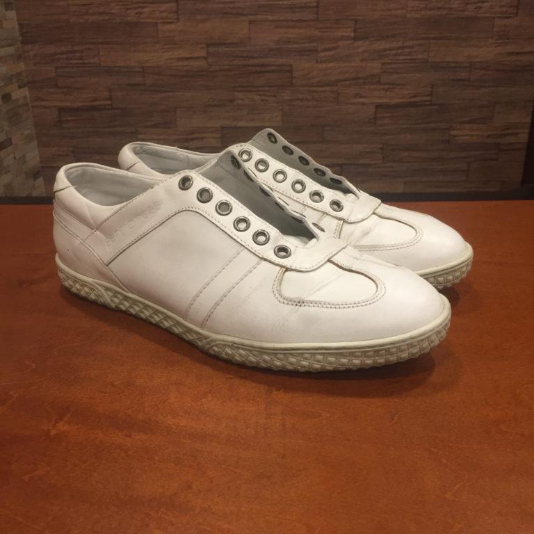靴磨き水洗い