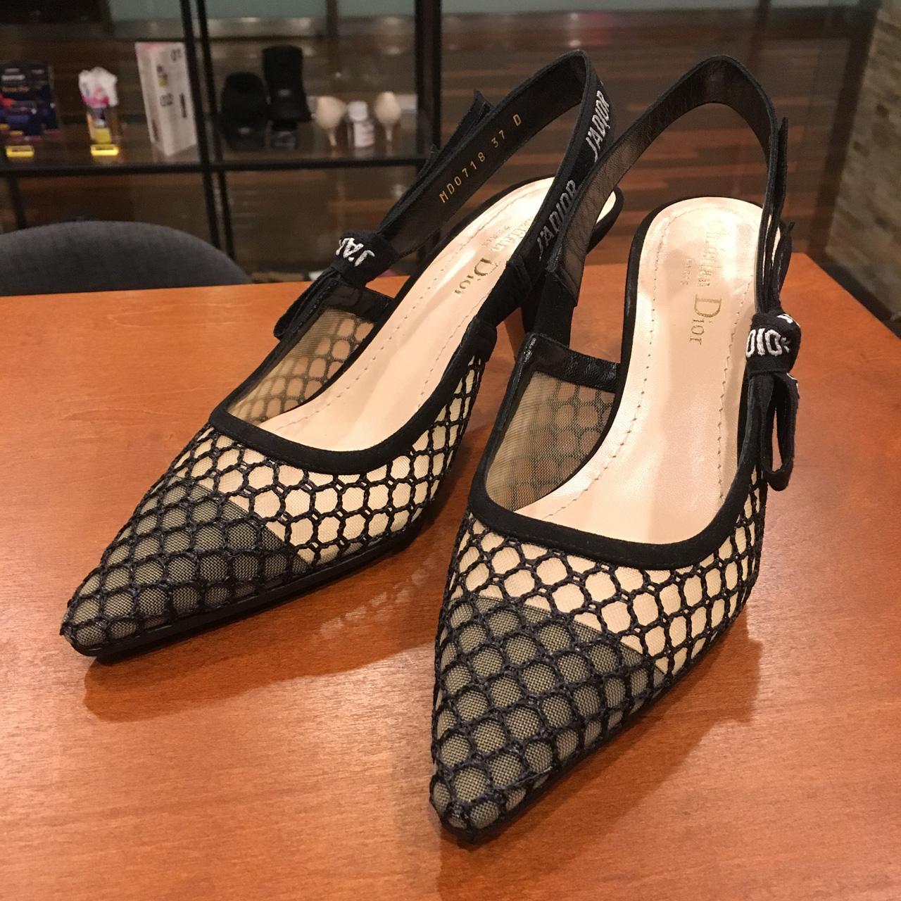 ディオールの婦人靴をハーフソール補強