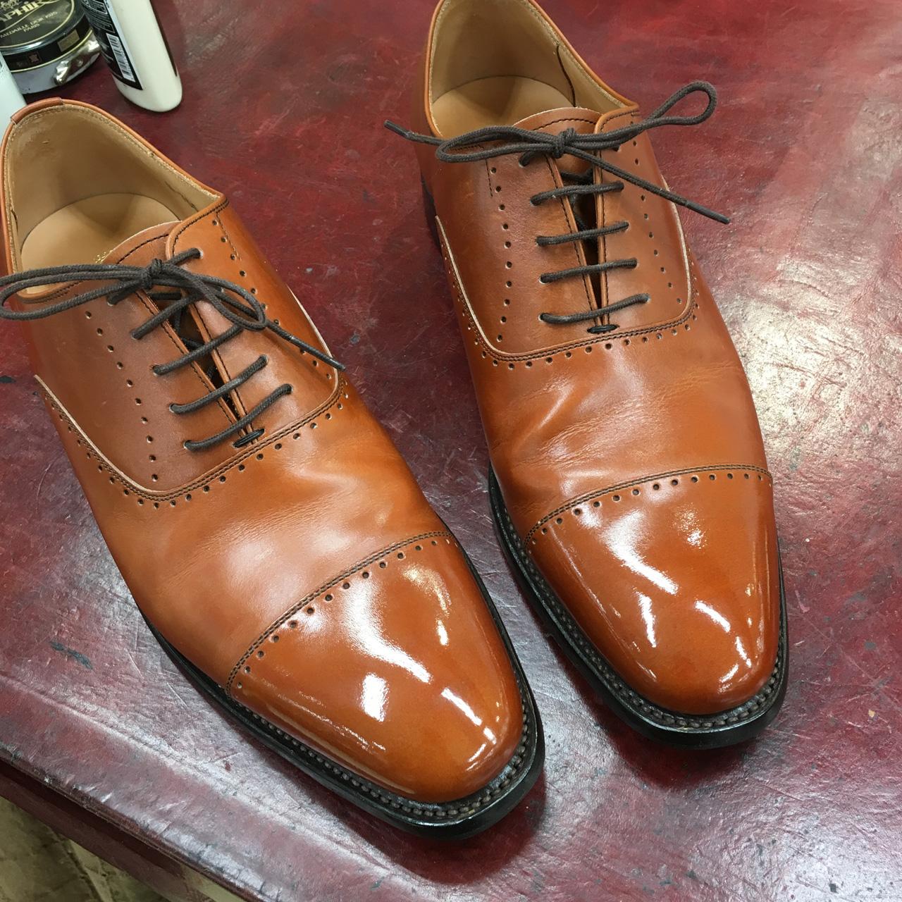 靴紐の結び方について