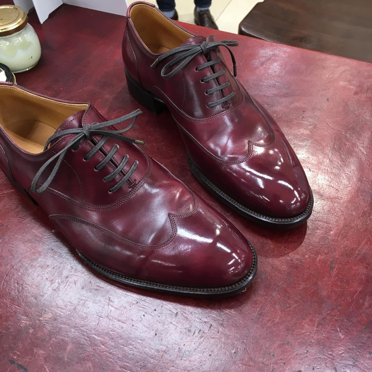 東急ハンズ名古屋店様にて靴磨きイベントでした
