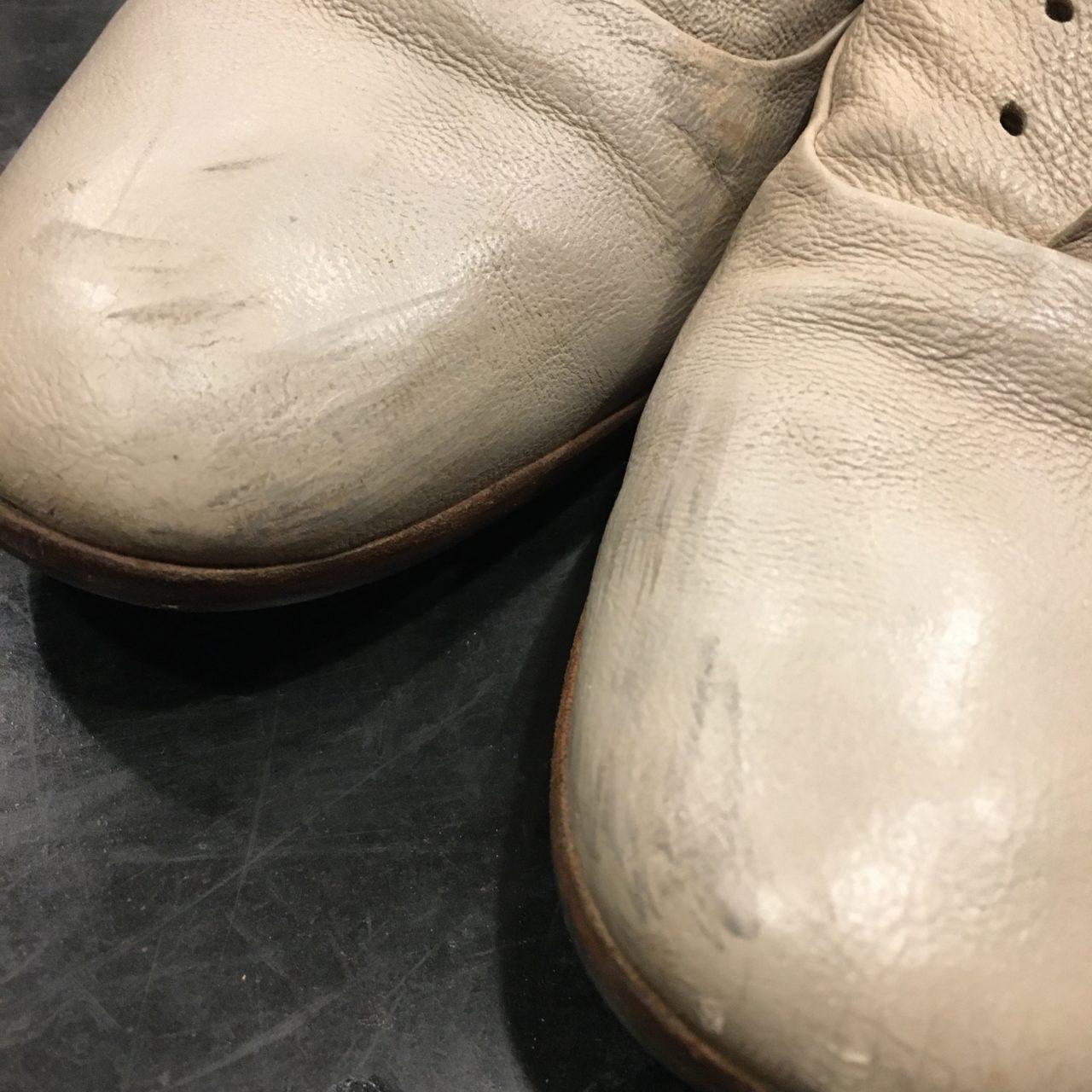 靴の内側が擦れた!気になる擦れ跡、擦れ傷を直したお話