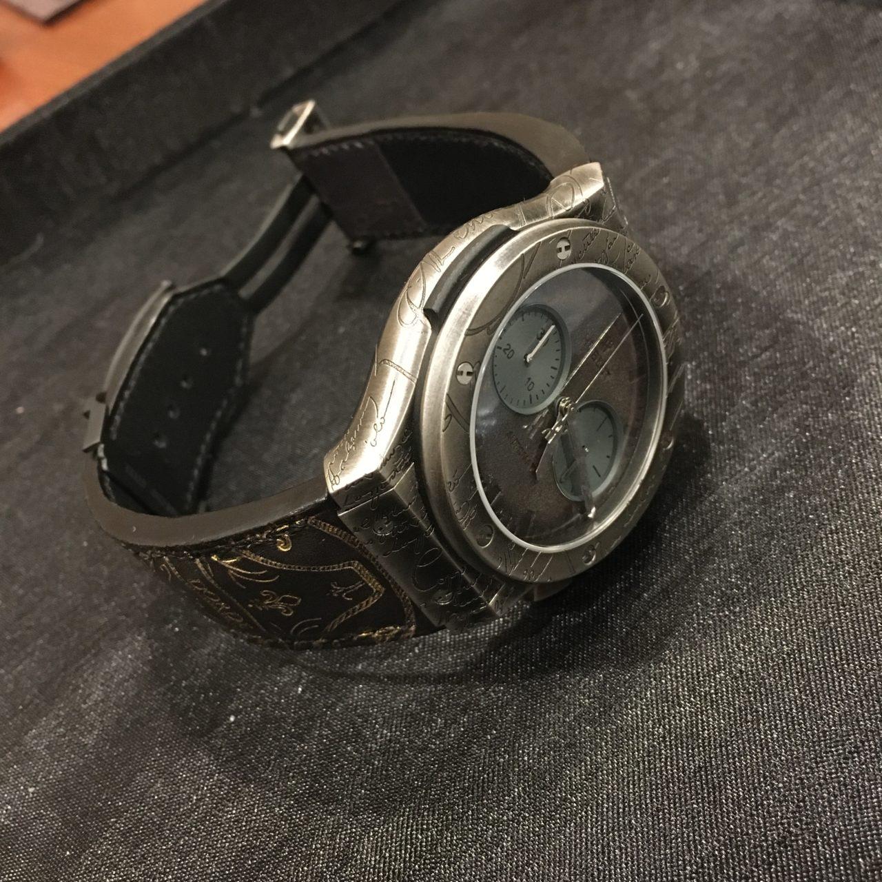 ベルルッティのベルトをリメイクしてHUBLOT(ウブロ)の時計ベルトを作成したお話