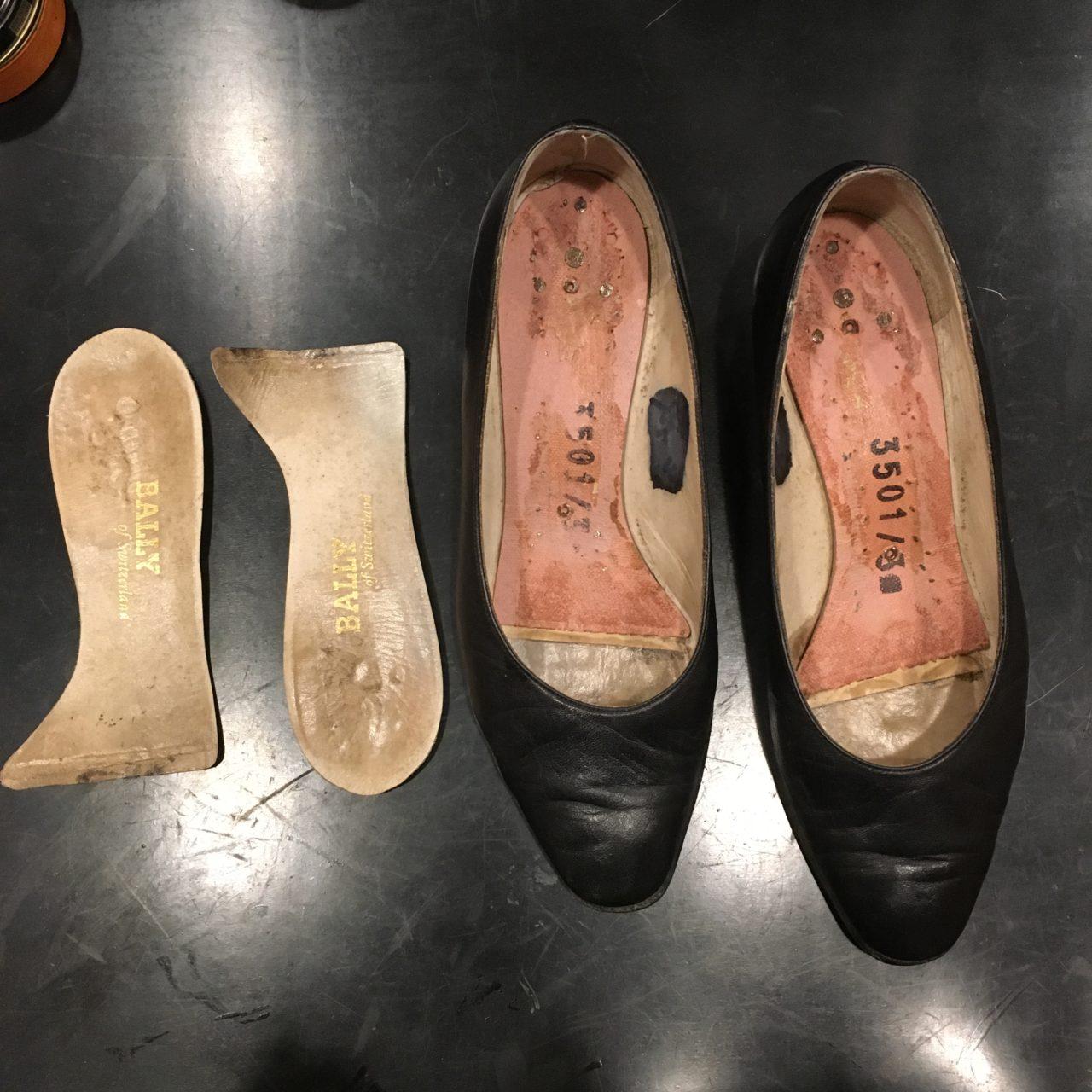 靴の中敷交換をしました。