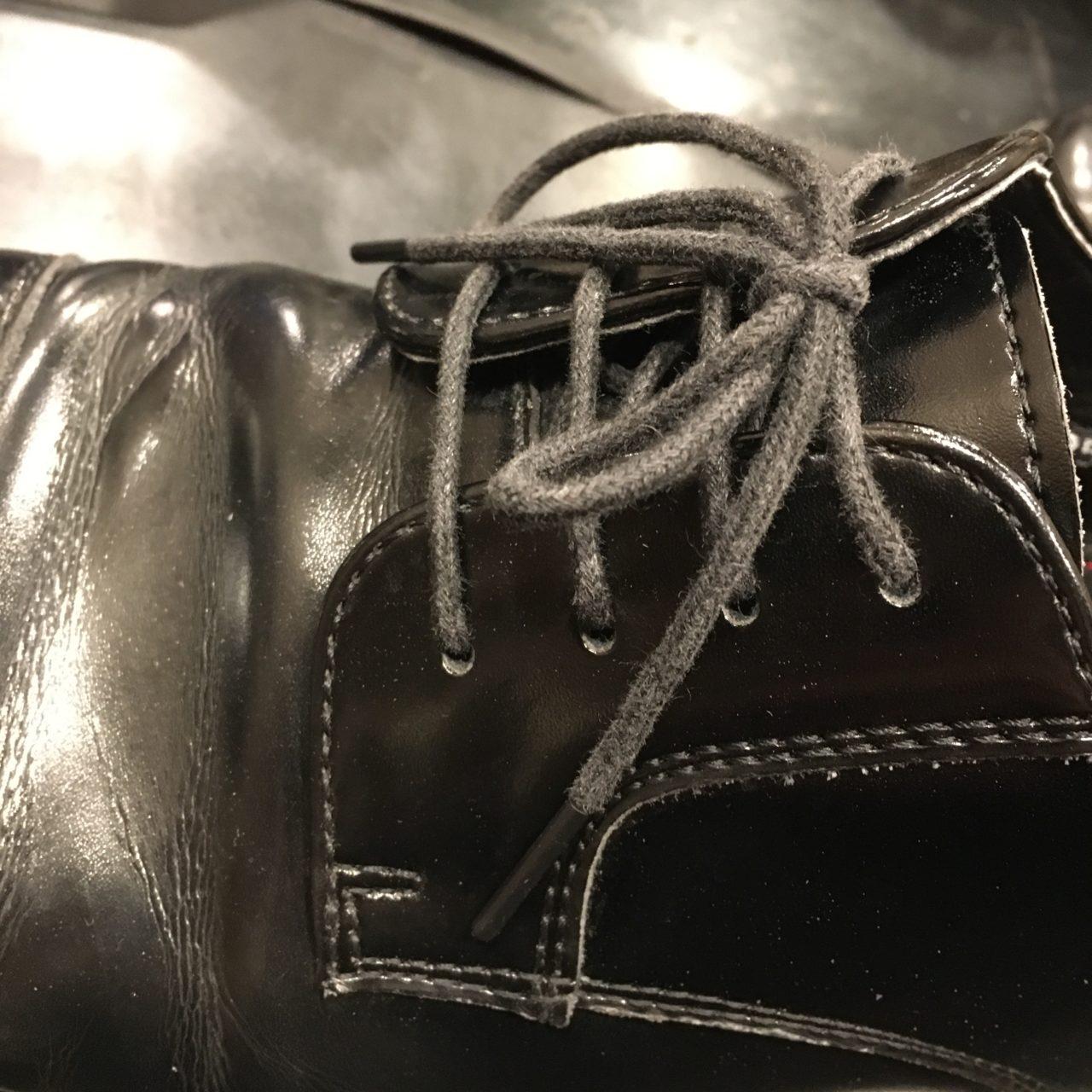 靴紐交換をすれば靴の魅力もグッと高まります!